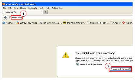 Firefox Configuration