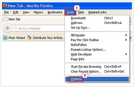 Options For Firefox
