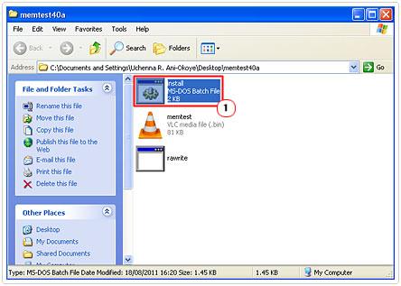 memtest install file