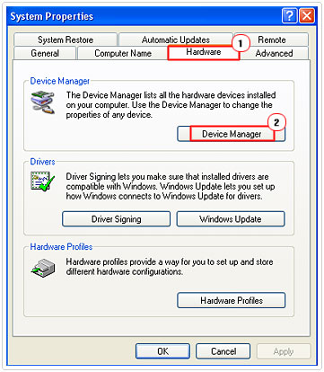 Run Device Manager