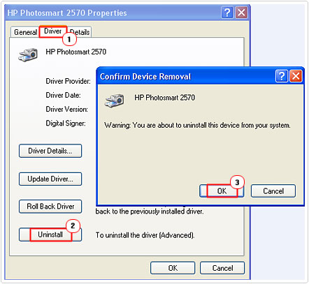 Uninstall Printer Drivers