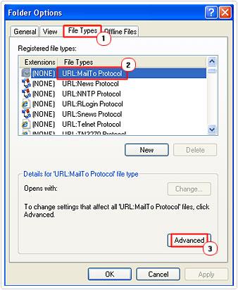 Edit URL:MailTo Protocol