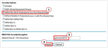 create new network password