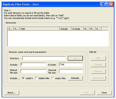 Duplicate Files Finder