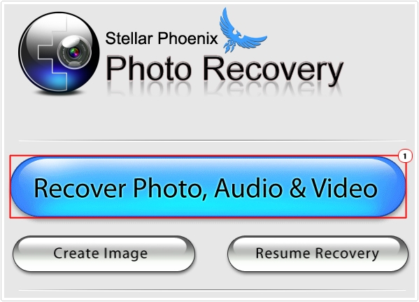 Click on Recover photo
