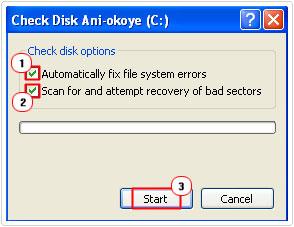 Fixing a Data Error Cyclic Redundancy Check