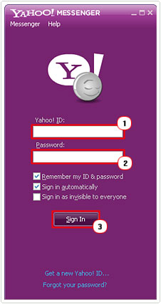 Yahoo Messenger Sign In