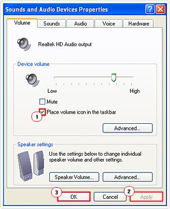 SNDVOL32 EXE TREIBER WINDOWS XP