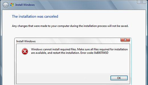 device error