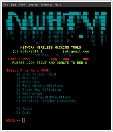 hacking tool for networks