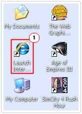 Double Click Internet Explorer
