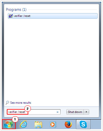 Switch off verifier