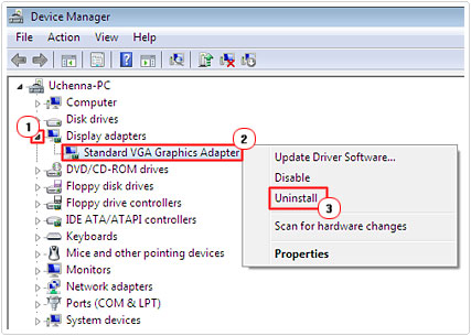 Disable or Uninstall Device Drivers