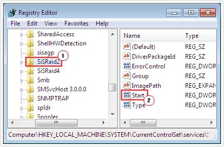 Registry -> Component -> Start