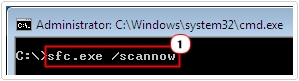 cmd -> sfc.exe /scannow
