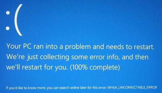 WHEA_UNCORRECTABLE_ERROR
