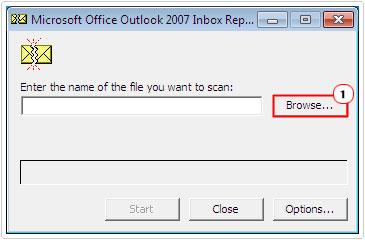 Repairing Outlook Error 0x80040600