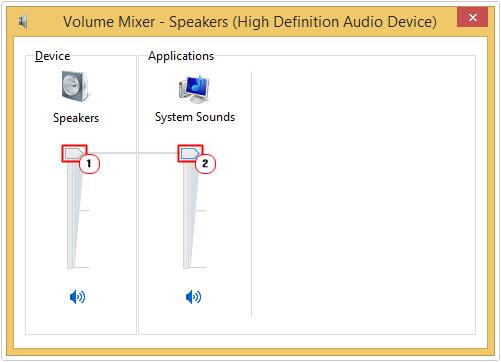 Volume Control -> Increase volume