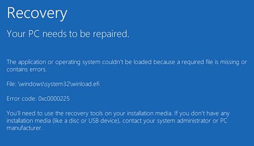 system32 error