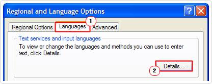 Languages -> details