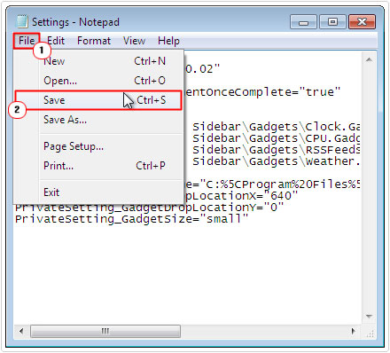 sidebar.exe untuk windows 7
