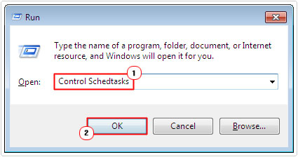 open windows task scheduler