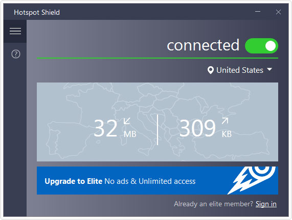 using hotspot shield