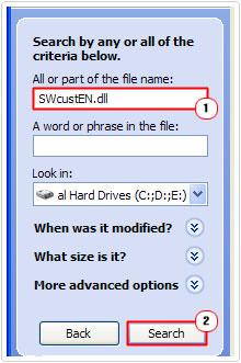 search -> SWcustEN.dll